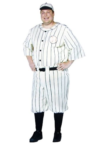 Old Tyme Baseball Player Men's Costume (Plus)