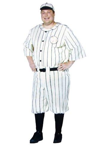 Old Tyme Baseball Player Men's Costume -
