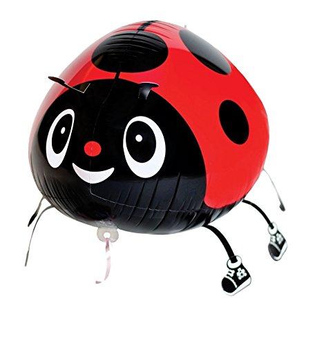 KINGMYS Your Own Pet Balloons Walking Animal Balloon Pets Air Walkers, Eco Balloon! Huge Balloon! Many Styles! (Ladybug)