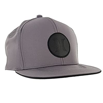 Hurley Icon Fusion Hat Dark Grey Mens Hat from Hurley