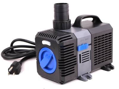 1375 GPH Pond Pump Adjustable Submersible Inline Fountain