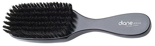 Diane D8169 100% Soft Boar Bristle Wave Brush - Bl…