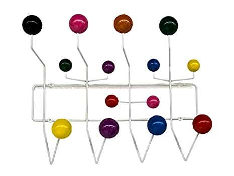 Oui Home - Perchero Bolas Multicolor Estilo Eames Hang it ...