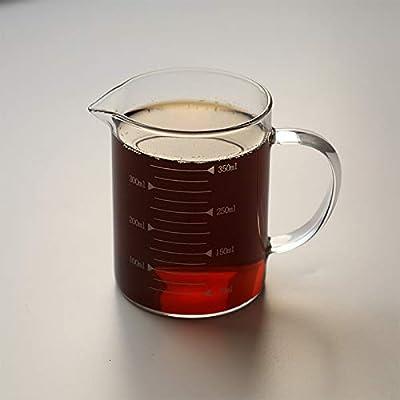 Hornear vaso medidor de vidrio resistente al calor con escala ...