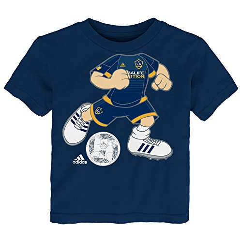 MLS Los Angeles Galaxy 'Dreamjob Soccer Player' Toddler Boys Shirt, 3T, Navy