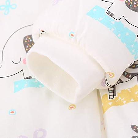 S//K/örpergr/ö/ße 65cm-80cm, blauerRoboter Baby schlafsack mit Beinen Warm Lined Winter Langarm Winter schlafsack mit Fu/ß und Baby schuhe 3,5 Tog