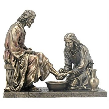 Unicorn Studios WU76001A4 Jesus Washing His Disciple