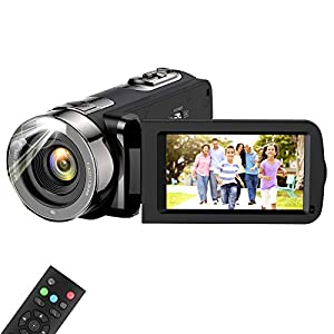 Flashandfocus.com 41Uc5JntGtL._SS300_ Video Camera Camcorder, wechi Full HD 1080P 15FPS 24MP Digital Camera Vlogging Recorder for YouTube 3.0 Inch Touch LCD…