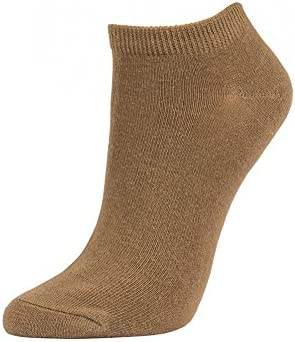 Pack of 12 2ND DATE Womens Cotton No Show Socks