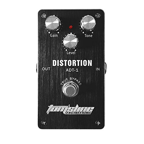 Aroma ADT-1 Distortion Electric Guitar Effect Pedal True Bypass with Aluminum Alloy Housing