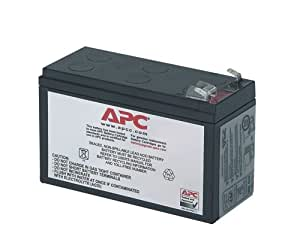 APC Replacement Battery 12V-7AH - Batería/Pila recargable (7000 mAh, Sealed Lead Acid (VRLA), 12V, 2,5 kg, 2,7 kg, 102 x 140 x 48 mm) Negro