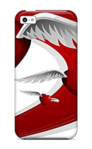 Sarah deas's Shop 8776058K26357801 Perfect Fit Flying Love Hearts Case For Iphone - 5c
