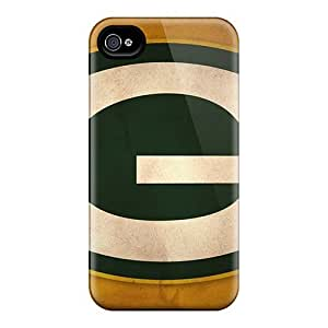 Faddish Phone Cases For Iphone 4/4s / Perfect Cases Covers - Green Bay Packers by icecream design