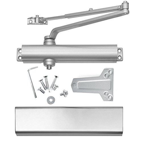 Lawrence Hardware Commercial Door Closers, Grade 1, Heavy Duty, Cast Aluminum, Model SL816, High-traffic Doorways. Identical = Norton 8501, Comparable = LCN 1461 by Lawrence Hardware