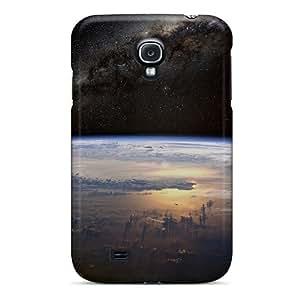 linJUN FENGForever Collectibles Galaxy Earth Hard Snap-on Galaxy S4 Case