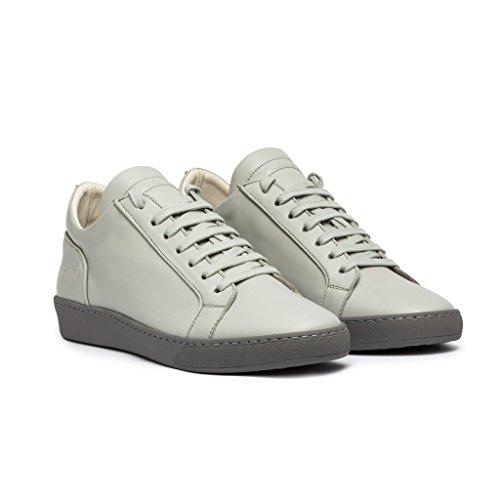YLATI Amalfi-Grey-Leather Barato 2018 Barato Precio Más Bajo Perfecto Compra Venta Barata Pagar Con La Venta En Línea Paypal i7Cqjr6