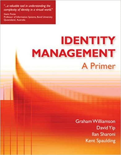 Identity Management A Primer 9781583470930 Computer Science Books