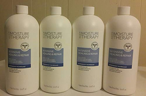 Moisture Avon Therapy Lotion (Avon Moisture Therapy Intensive Healing Repair Lot of 4)