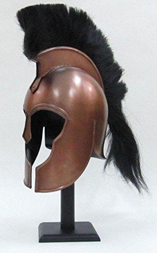 Asmara Nautical Troy Armor Helm  Kupfer-Finish  Mittelalter Knight Crusader Spartan  Stahl