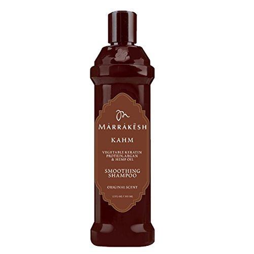 12 Oz Smoothing Shampoo - Marrakesh Kahm Smoothing Shampoo 12 Oz Original Scent.