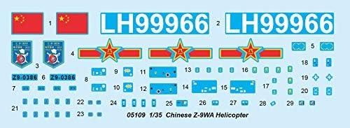Trumpeter 5109 Plastikmodellbau Luftfahrt Chinese Z-9WA Helicopter