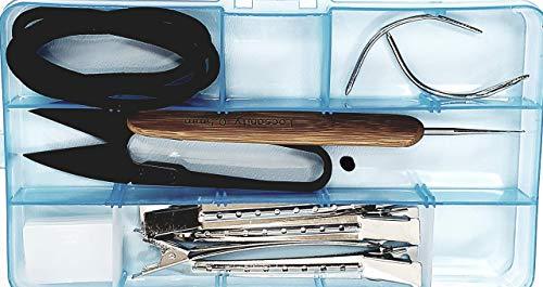 Locsanity Hair Lock Tool KIT - Dreadlocks Sisterlocks Crochet Microlocks Interlock Dreads Loc Tool ()