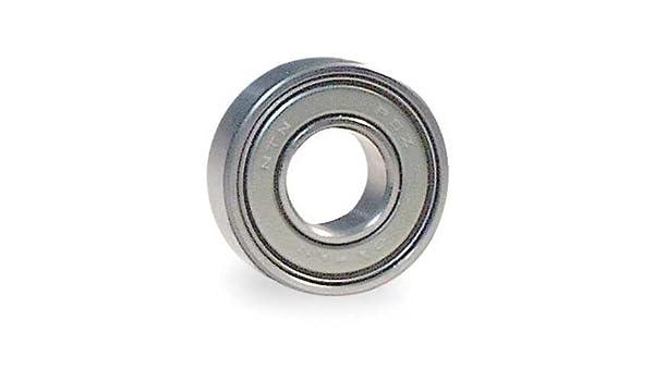 "NTN Radial Bearing,Double Shield,0.5/"" Bore 6201ZZ//12.7C3//L627"