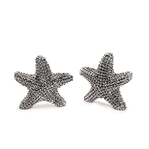 Mud Pie Starfish Miniature Salt and Pepper Shakers
