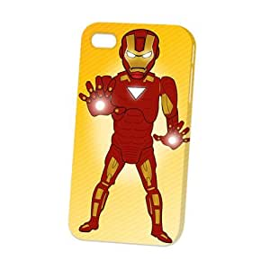 Case Fun Apple iPhone 4 / 4S Case - Vogue Version - 3D Full Wrap - Iron Man