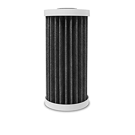 White KX Technologies EcoPure EPW4P Pleated Whole Home Replacement Water Filter-Universal Fits Most Major Brand Systems