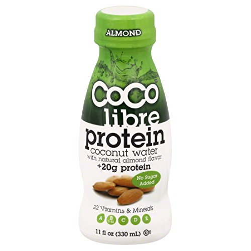 COCO LIBRE COCONUT WATER ALMOND TETRA, 11 OZ by CoCo Libre