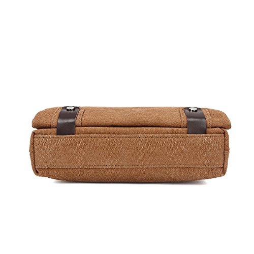 Green Laidaye Shoulder Bag Canvas Travel Business Multi Leisure Men Backpack purpose Handbag rAwPqaOr