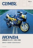 Clymer Shop Manual for Honda - --