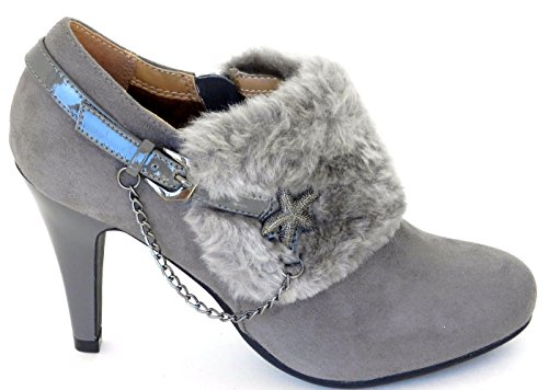 Gey Women's Sexy Stiletto Shoes Buckle Partywear nbsp;M4713 Evening Dance Lasonia Strap Pumps Heel DEV FpnCpd