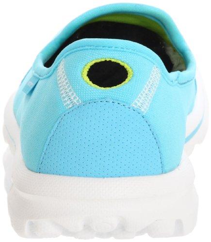 Skechers Zapatillas para Aqua Azul Deportivas Go 2 Walk Mujer ww1RHf