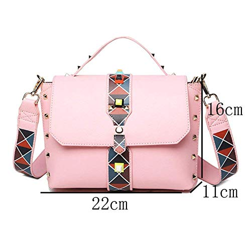 América Moda tamaño Eeayyygch y Bamboo Europa La Hit Messenger Shoulder Ribbon Color tamaño Blanco Bag Bag Un Sra Color UxgqgR1rWI