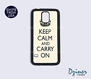 Galaxy S5 Case - Keep Calm Carry On