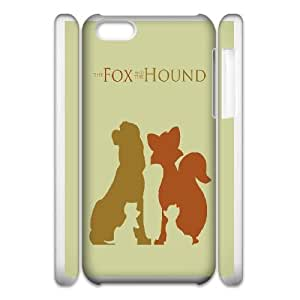 iphone6 4.7 3D Cell Phone Case White Fox and the Hound VC3XB2036985