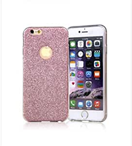 Soft bling pink glitter case cover for i phone6 plus