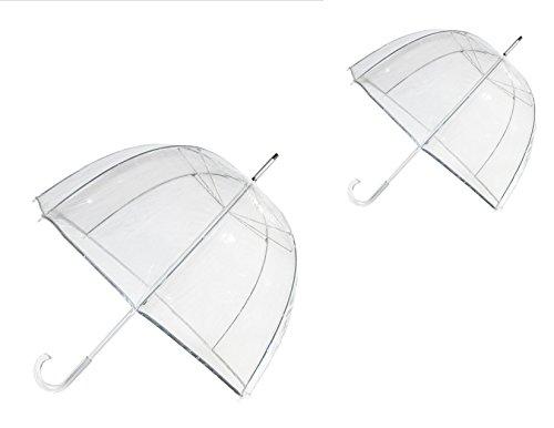 Totes Classic Clear Bubble Umbrella