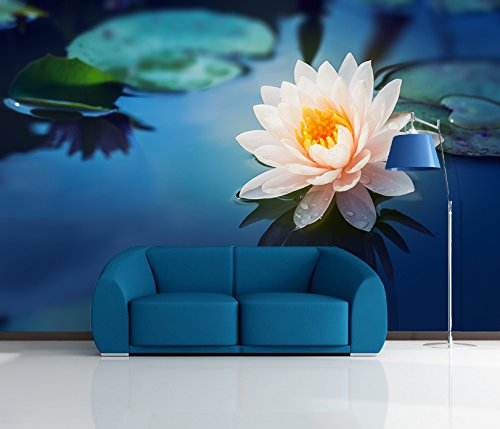 3D Beautiful Lotus Landscape 38 Wall Paper Wall Print Decal Wall Deco Indoor wall Murals