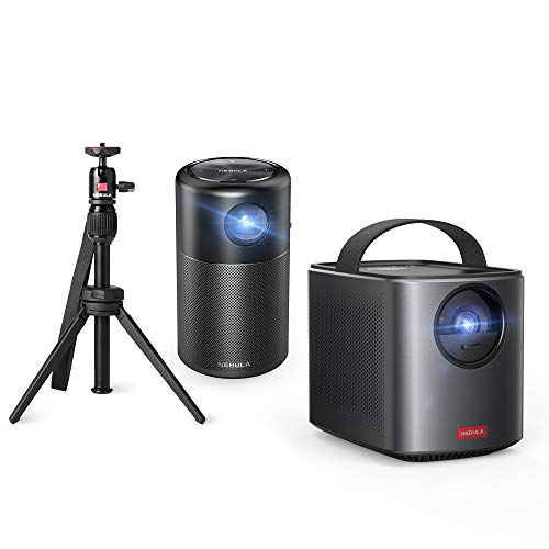 100 ANSI Lm 480P LCD Multimedia Projector, Nebula Prizm by Anker, with 5W Speaker, HDMI and USB Compatibility for Movies, Videos, Pictures, Music, and More from Anker