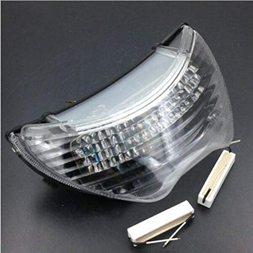 FidgetKute Motorcycle LED Tail Light for Honda CBR600F4 1999-2000 CBR600F4i 2004-2006 Clear