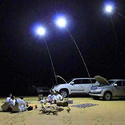 Alelife Remote Control Telescopic COB Rod LED Fishing Outdoor Camping Lantern Light Lamp Hiking BBQ (Multicolor)