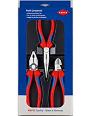 """Knipex 00 20 11 """"Assembly"""" Pliers Set (3 Piece)"""