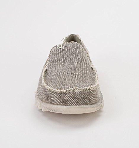 Dude Maschile Mulo Farty Tundra Antiscivolo di Shoes Naturale Cotone Grigio Organici sulla HqaRYrvnH