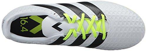 adidas Performance Damen Ace 16.4 FxG W Fußballschuh Weiß / Schwarz / Elektrizität