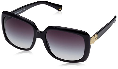 Emporio Armani EA 4008 Women's Sunglasses Black - Sunglasses Ea