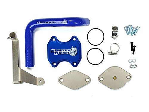 Sinister Diesel EGR Kit for 2007.5-2009 Dodge Cummins 6.7L (Best Egr Delete Kit For 6.7 Cummins)