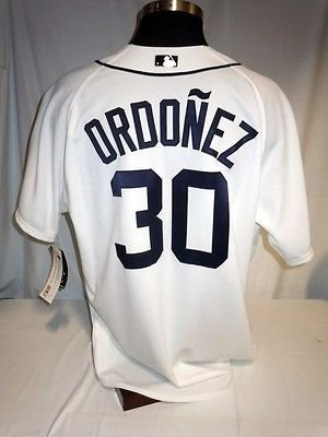 3710ecf39f6 Image Unavailable. Image not available for. Color  Magglio Ordóñez Detroit  Tigers Authentic Majestic On-Field White Home Jersey